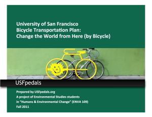 USF Bike Plan cover image