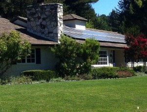 Thanks for producing renewable energy! But does your lawn know that California is in a drought?