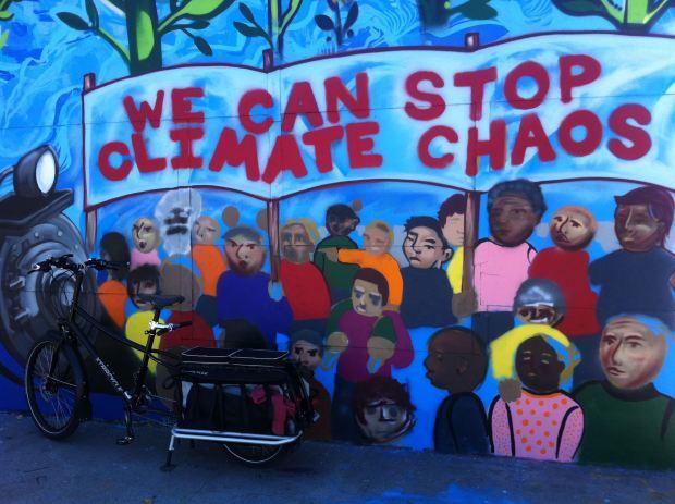 A mural in Richmond, CA