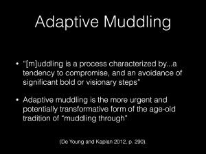 adaptive muddling1