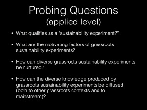 probing questions applied